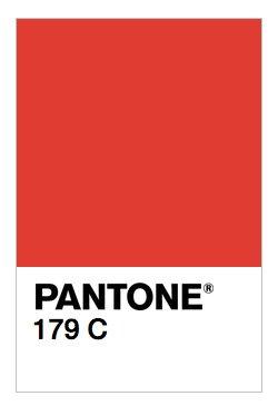 PANTONE 179C