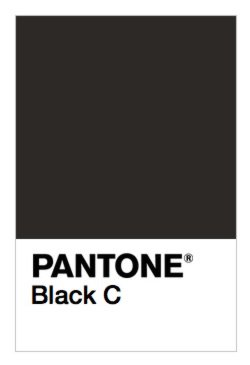 PANTONE Black C