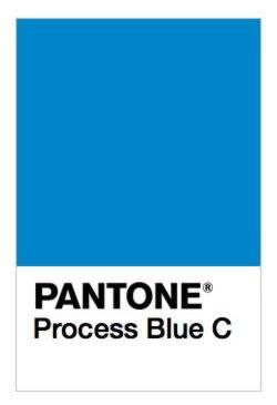 PANTONE Process Blue C